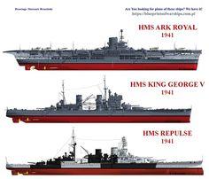 HMS warships...