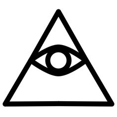 The Eye of Providence. While this symbol has many different uses, it is also used to symbolize the Cao Dai faith. https://en.wikipedia.org/wiki/Eye_of_Providence