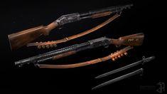 "ArtStation - Winchester m97, Daniil ""DenHelen"" Maximov Winchester, Characters, Figurines"