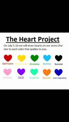 The heart project. Im gonna do it any day i want