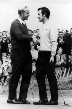 Memorable Moments in Ryder Cup History via Daily Herald. Jack Nicklaus, left, U.S.A., congratulates Tony Jacklin, Great Britain,  Our Residential Golf Lessons are for beginners,Intermediate & advanced . Our PGA professionals teach all our courses in a incredibly easy way to learn and offers lasting results at Golf School GB www.residentialgolflessons.com