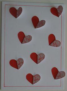 """noflik nifelje: """"liefdevolle valentijn!""""( 45e van 365 dagen ) PAPIER SNIJDEN/TEKENEN"""
