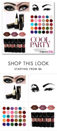 """""""Newchic 27"""" by abecic ❤ liked on Polyvore featuring beauty"""
