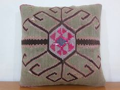 turkish pillow - kilim pillow - turkish cushion, $145.00