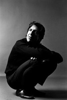Leonard Cohen 1970. Great man, great singer/songwriter, great poem.. R.I.P.