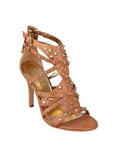 Laidea Studded High-Heel Sandal | Loooove the studs!