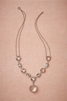 Crystal Clarity Necklace in Shoes & Accessories Jewelry at BHLDN