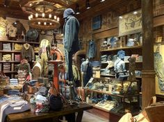 Denim Visual Merchandising #24_New RRL store is amazing. Located on West Broadway in NYC