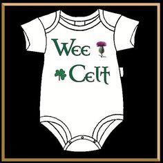 Wee Celt Baby Jumper, Infant Bodysuit