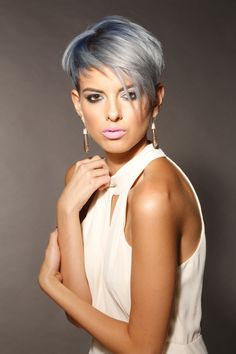 Styled by Jordan David, winner of the Alumni Colour category at the 2015 TONI&GUY Photographic Awards