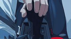 Resultado de imagem para initial d evo gif Anime Gifs, Manga Anime, Anime Art, Otaku Anime, Cyberpunk, Car Gif, New Retro Wave, Ae86, A Silent Voice