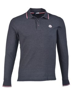moncler long sleeve polo