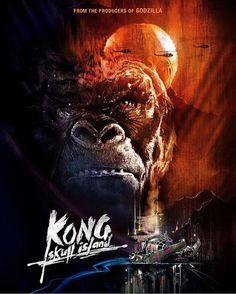 On our way to Kong: Skull Island. We're hoping they get this videogame adaptation right and wonder if Mario will have a cameo. ;) @warnerbrosnl #kongskullisland #donkeykongcountry #kong #godzilla #donkeykong #supermario #nintendo #warnerbros #nerdbait