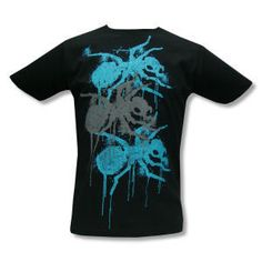 Buy Online The Prodigy - Dripping Ants on Black T-Shirt