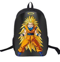16 Inch Dragon Ball Z Sun Goku Backpack For Teenagers Boys Girls School Bags  Women Men Travel Bag Children School Backpacks c994ef2e1a
