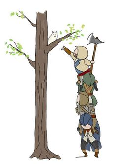 Assassins Creed: Unity Cartoon -more funny pictures :D www.multismile.com