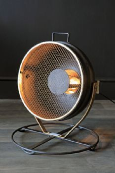 Search Light Industrial Floor Lamp