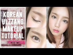 How To Korean Ulzzang/Uljjang MakeUp (ft Aegyo Sal) [with subtitles] Korean Makeup Look, Korean Makeup Tips, Korean Makeup Tutorials, Ulzzang Makeup Tutorial, Korean Beauty Tips, Asian Beauty, Beauty Soap, Korean Ulzzang, Makeup Eyeshadow