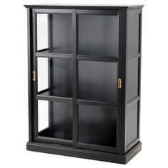 """IKEA - MALSJÖ, Glass-door cabinet, 40 1/2x55 1/2 """", , Glass-door cabinet keeps your favorite items free from dust but still visible.The attention to detail gives the furniture a distinct handcrafted character."""