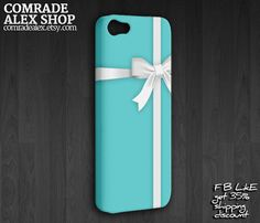 Tiffany Blue Box iPhone 5 Case, iPhone 5 Cases, iPhone 5 Cover, Tiffany Box Case for iPhone 5. $16.88, via Etsy.