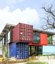 Container Building, Office