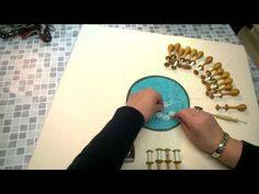 Katariinapohja kukan keskelle / Bruggen kukkapitsi - YouTube