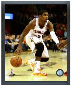 "Kyrie Irving 2013-2014 Cavaliers - 11"" x 14"" Photo in a Glassless Sports Frame"