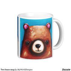 Two bears mug