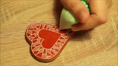 DIY: How to decorate gingerbread for Valentine's Day: Part One.