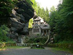 Stone House in Hrensko (Czech Republic)