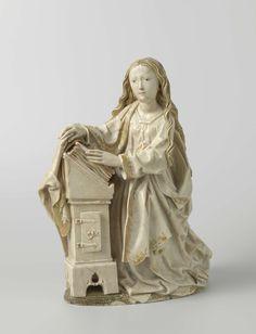 RIEMENSCHNEIDER Tilman - German (c.1460 - 1531) -  the annunciation (ca. 1485-87, Rijksmuseum, Amsterdam)