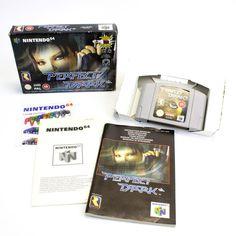 Perfect Dark for Nintendo 64, N64 by Rare, 2000, PAL, Sci-Fi / Futuristic