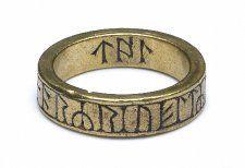 Greymoorhill runic ring 8-10th Cumbria