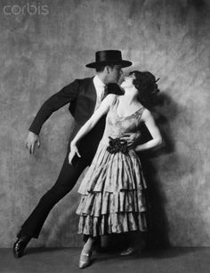 Martha Graham and Ted Shawn