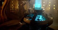 """And finally, we get a shot of Ten (or is it TenToo?) in his old TARDIS. 