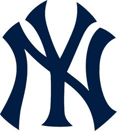 New York Yankees Logo on Chris Creamer's Sports Logos Page - SportsLogos. A virtual museum of sports logos, uniforms and historical items. Currently over on display for your viewing pleasure Yankees Baby, Yankees Logo, New York Yankees Baseball, Dodgers Vs Yankees, Yankees News, Yankees Nursery, Damn Yankees, Softball, Captain America Wallpaper