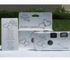 10 Pack Happy Hearts Wedding Party Disposable Cameras with Gift Box and Matching Tents *** Details can be found by clicking on the image.(It is Amazon affiliate link) #photooftheday