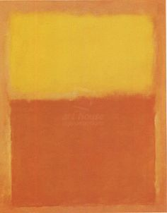 #Orange and yellow Rothko