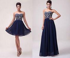 abito lungo o corto con paiettes vestito donna cerimonia damigella sera elegante