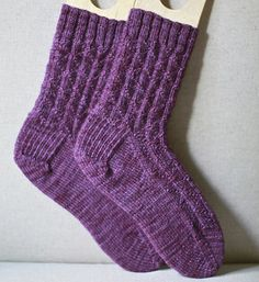 Diamond Rib Socks