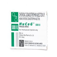 Hucog 5000 IU contains human chorionic Gonadotropin (HCG) as an active drug which is used for fertility in men and women.