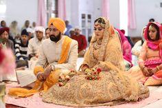 Sikh Bride, Indian Bridal, Indian Bridal Wear, Indian Weddings