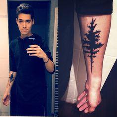 My #tree #tattoo ! #forest #art #skin