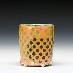 Schaller Gallery : Artist : Paige Wright : Polka Dot Nub Cup