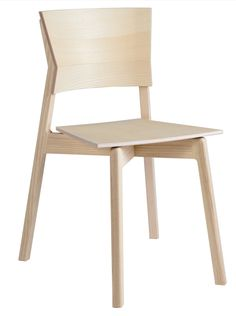 The Excelsa chair is made of solid ash, which is a strong and formable wood just like birch. Excelsa is inspired by Zen philosophy on light, space. Outdoor Chairs, Dining Chairs, Outdoor Decor, Wood Furniture, Outdoor Furniture, Wood Veneer, Industrial Design, My Design, Tiles
