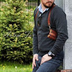 Портупея   #портупея#кожа#кожанаяпортупея#ручнаяработа#Россия#handmade#leatherwork#artemfoxleather#классныештуки#leather#