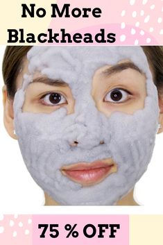 Get Rid of Blackheads with our Charcoal Blackhead Mask. This Carbonated Bubble Clay Charcoal Blackhead Mask is both a deep-cleansing makeup remover like a homemade blackhead cream! It's formulated with key ingredients like charcoal powder, green tea extracts and collagen. Our Original Charcoal Blackhead Mask. 75 % Off  #blackheadsremovalmask #HomeMadeBlackhead #blackheadsremovalmaskproducts  #CharcoalBlackheadMask #homemadeblackhead #charcoalblackheadmask #blackheadsremovalhomemade #blackhead Best Blackhead Mask, Best Blackhead Treatment, Blackhead Remover Homemade, Blackheads Removal Cream, Get Rid Of Blackheads, Best Toothpaste, Homemade Toothpaste, Carbonated Bubble Clay Mask, Pore Cleanser