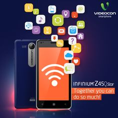 Make your life easier with the new #Videocon Infinium Z45Q Star, the smartphone for smart users. Know more about it here - http://www.videoconmobiles.com/z45q-star
