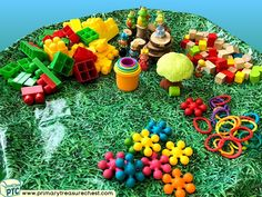 Wales - Saint David's Day - Dydd Santes Dwynwen Themed Construction Multi-sensory Small World Toys Tuff Tray Ideas and Activities Multi Sensory, Sensory Play, Welsh Gifts, Saint David's Day, Tuff Spot, Tuff Tray, Eyfs, Role Play, Small World