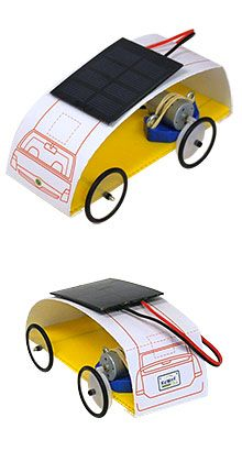 Solar Powered Car Science Fair Project Image Of Beginner